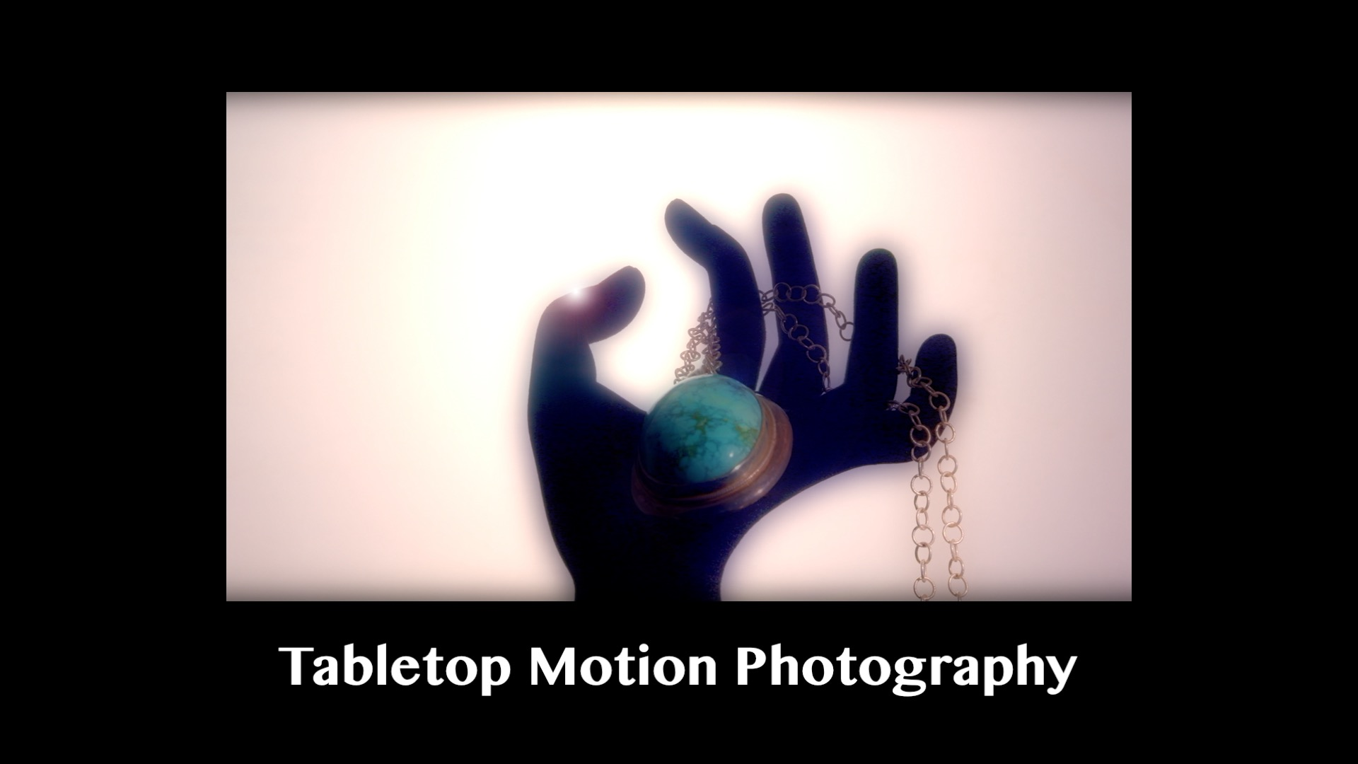 Tabletop Motion Photography Jewelry